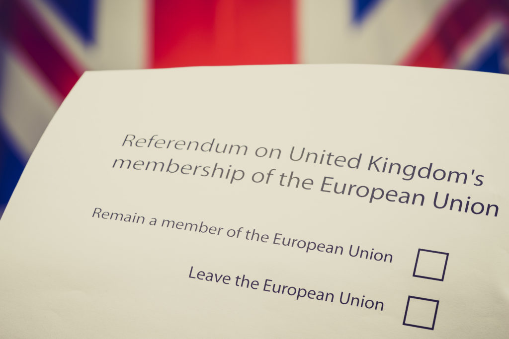 UK referendum on EU Membership - ballot paper © European Union 2016 - Source : EP.